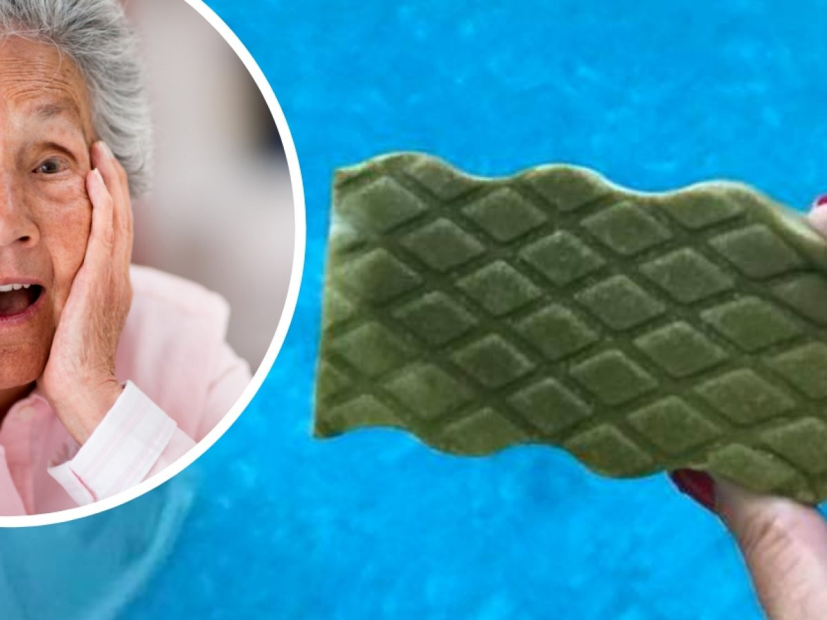 Grandma Uses Magic Eraser To Clean Green Pool In A Day